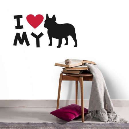 I Love My Dog - Adesivo Decorativo 35 x 60cm