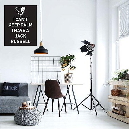 Keep Calm Jack Russell 48 x 60 cm /