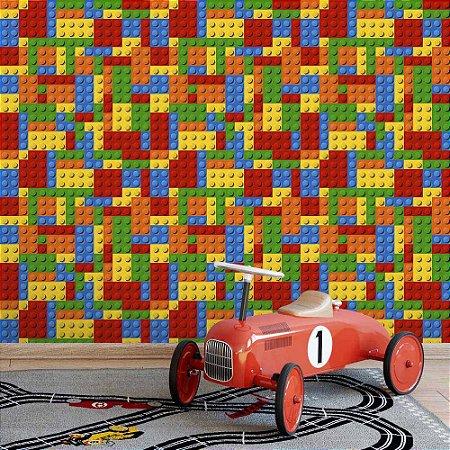 Lego - Papel de Parede Infantil /
