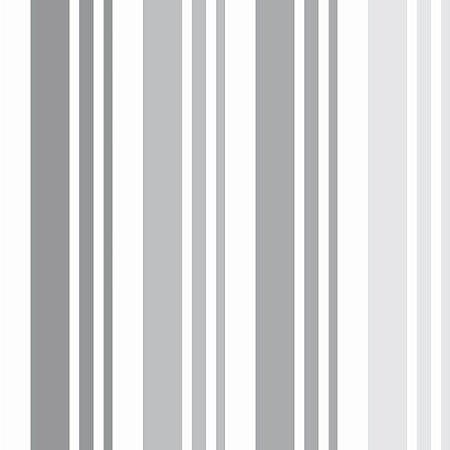 Listrado Gray - Papel de Parede