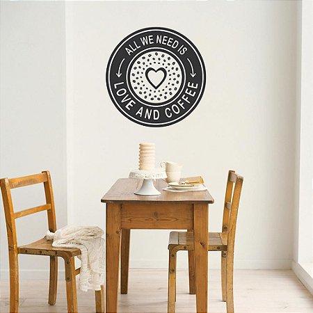 Love and Coffee 50 x 50 cm