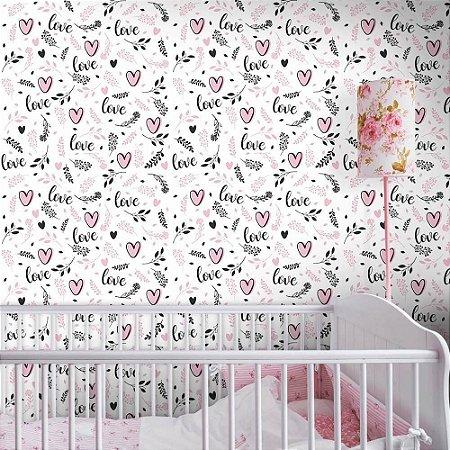 Love Girl - Papel de Parede infantil