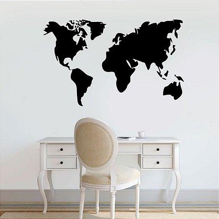Mapa Mundi 94 x 54 cm /