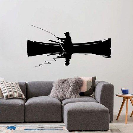 Pescador - Adesivo Decorativo 115 x 58 cm