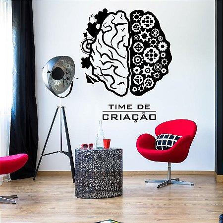 Time de Criação - Adesivo Decorativo 90 x 72 cm