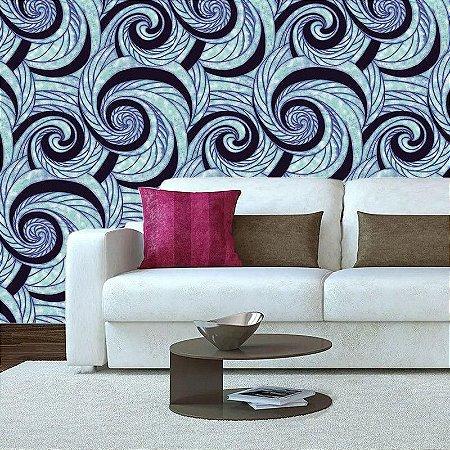 Abstrato Azul - Papel de Parede