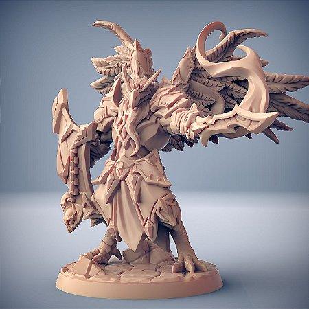 Malor, Guardião do Olho - Grifinos do Culto Ocular - Miniatura Artisan Guild