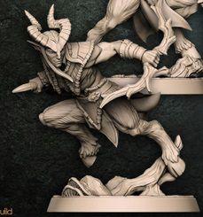"Guarda-Matas  ""A"" - Guarda-Matas Arverianos - Miniatura Artisan Guild"