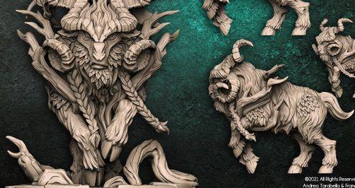 Faenarion - Guarda-Matas Arverianos - Miniatura Artisan Guild