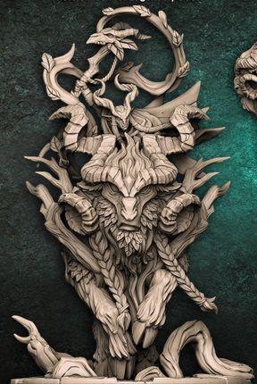 Faenarion Montado- Guarda-Matas Arverianos - Miniatura Artisan Guild