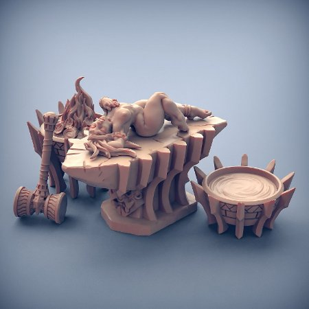 Fiamma - Busca-Chamas de Dumlok - Miniatura Artisan Guild