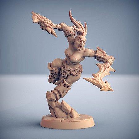 "Busca-Chamas  ""D"" - Busca-Chamas de Dumlok - Miniatura Artisan Guild"
