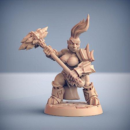 "Busca-Chamas  ""F"" - Busca-Chamas de Dumlok - Miniatura Artisan Guild"