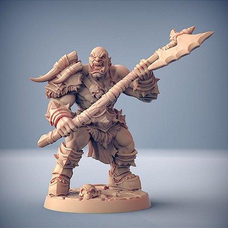 "ORC ""A"" - Orcs Bárbaros - Miniatura Artisan Guild"