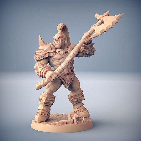 """ORC """"B"""" - Orcs Bárbaros - Miniatura Artisan Guild"""