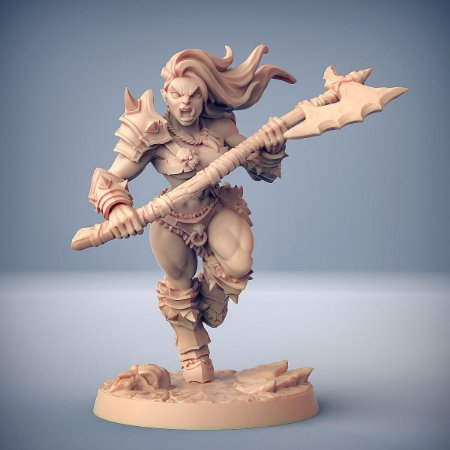 """ORC """"C"""" - Orcs Bárbaros - Miniatura Artisan Guild"""