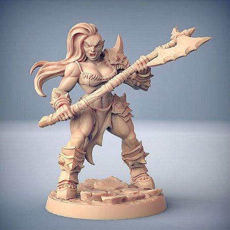 """ORC """"D"""" - Orcs Bárbaros - Miniatura Artisan Guild"""