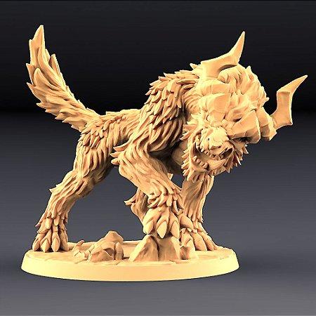 GOREFANG  (com chifres)- Orcs Bárbaros - Miniatura Artisan Guild