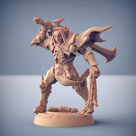 """Inquisidor """"B"""" - Inquisidores Elfos Cinzentos - Miniatura Artisan Guild"""