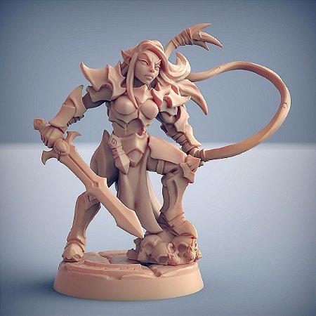 """Inquisidor """"C"""" - Inquisidores Elfos Cinzentos - Miniatura Artisan Guild"""