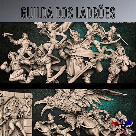 Minibox - Guilda dos Ladrões - Box de Miniaturas em resina da Artisan Guild