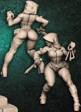 Adriana (Pin Up) - Guilda dos Ladrões - Miniatura Artisan Guild