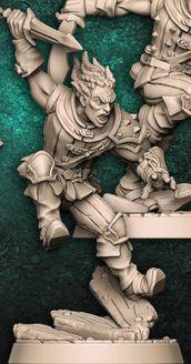 """Adepto """"C"""" - Guilda dos Ladrões - Miniatura Artisan Guild"""