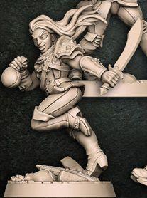"""Adepto """"D"""" - Guilda dos Ladrões - Miniatura Artisan Guild"""
