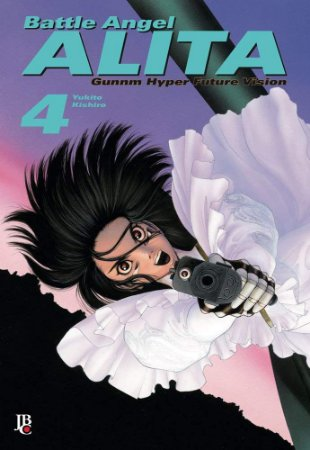 MANGÁ - BATTLE ANGEL ALITA Vol 4