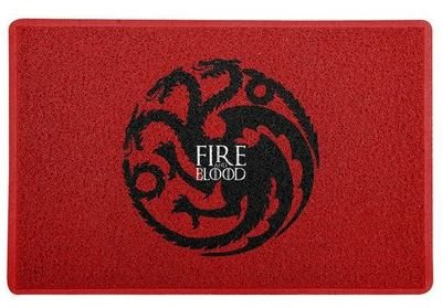 CAPACHO - FIRE AND BLOOD - 60x40 - Game of Thrones