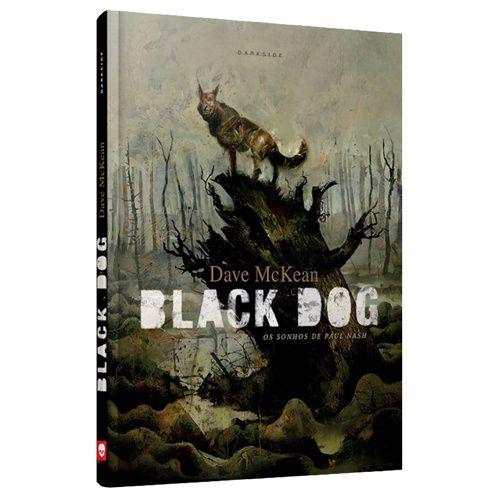 GRAPHIC NOVEL - BLACK DOG - OS SONHOS DE PAUL NASH - Ed. DARKSIDE - CAPA DURA