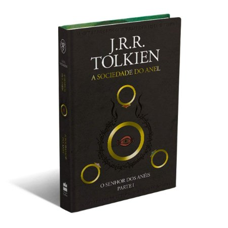 LIVRO - O SENHOR DOS ANÉIS: A SOCIEDADE DO ANEL - J.R.R.TOLKIEN - CAPA DURA LUXO