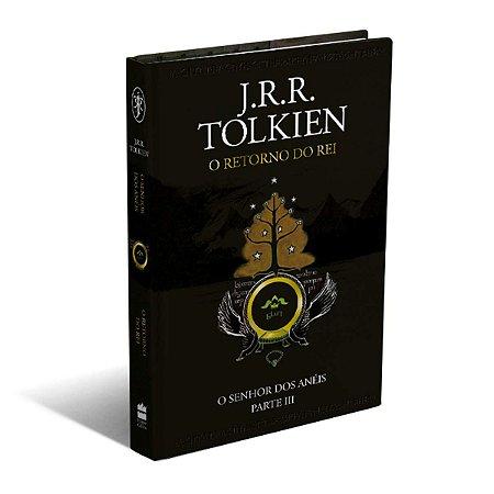 LIVRO - O SENHOR DOS ANÉIS: O RETORNO DO REI - J.R.R.TOLKIEN - CAPA DURA LUXO