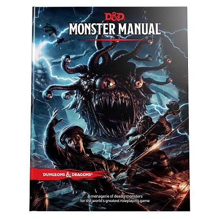 MONSTER MANUAL - DUNGEONS AND DRAGONS 5ª Ed (em português)