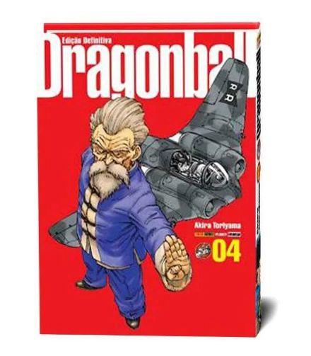 Mangá - Dragon Ball - Ed. PANINI - CAPA DURA- Edição definitiva volume 4