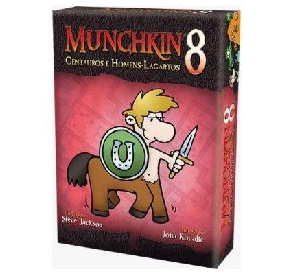 MUNCHKIN 8 CENTAUROS E HOMENS LAGARTOS  - Jogo de tabuleiro