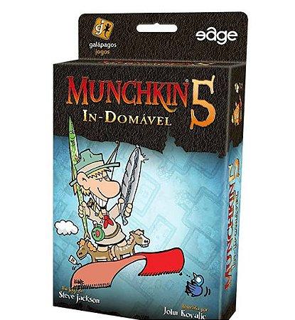 Muchkin 5 Dungeon Demente - Expansão - Jogo de tabuleiro