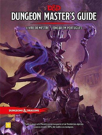 LIVRO DO MESTRE- DUNGEON MASTER'S GUIDE - DUNGEONS AND DRAGONS 5ª Ed (em português)