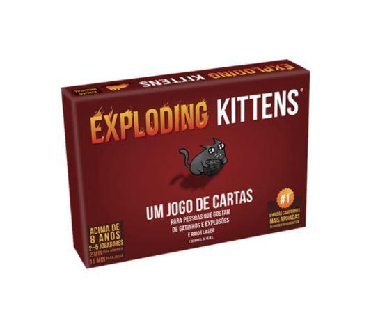 JOGO DE CARTAS - EXPLODING KITTENS