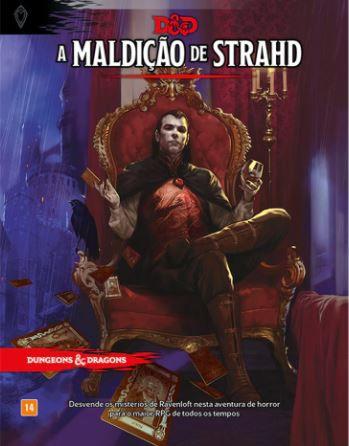 KIT RAVENLOFT: A MALDIÇÃO DE STRAHD + ESCUDO DO MESTRE - DUNGEONS AND DRAGONS 5ª Ed (em português)