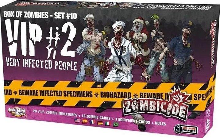 VIP 2 - Expansão Zombicide (Em Inglês)