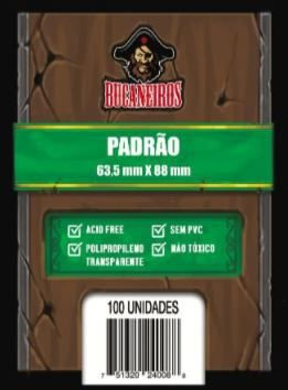 SLEEVE PADRÃO (63,5x88) - Bucaneiros - 100 un.