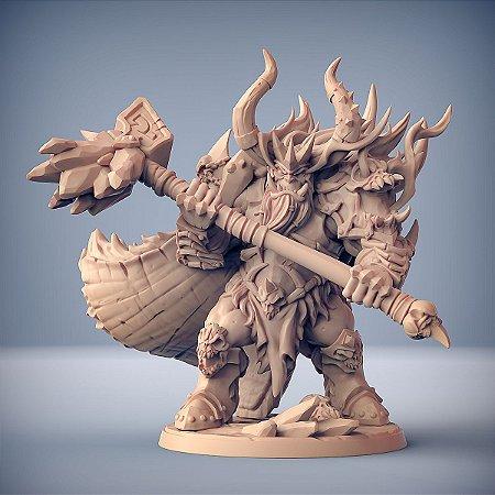GOTHRAK DOOMFIST - Clã Frostmetal - Miniatura Artisan Guild