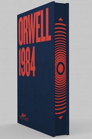 Livro - 1984 Orwell - Companhia das Letras- CAPA DURA