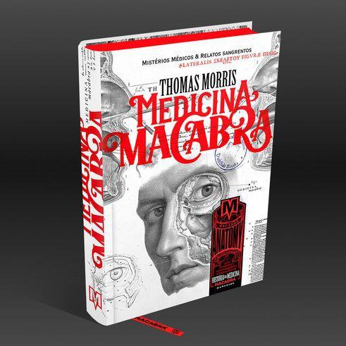 Livro - Medicina Macabra - Ed. Darkside