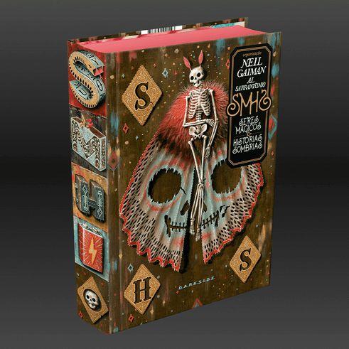 Livro - Seres Mágicos e Histórias Sombrias -  Neil Gaiman - Darkside