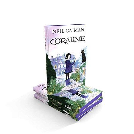 Livro - Coraline - Neil Gaiman - Ed. Intrínseca - CAPA DURA