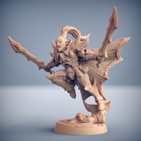 KHALADAS, FENDE-ALMAS - Inquisidores Elfos Cinzentos - Miniatura Artisan Guild