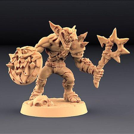 "GOBLIN ""B"" - Goblins do clã Sparksoot - Miniatura Artisan Guild"