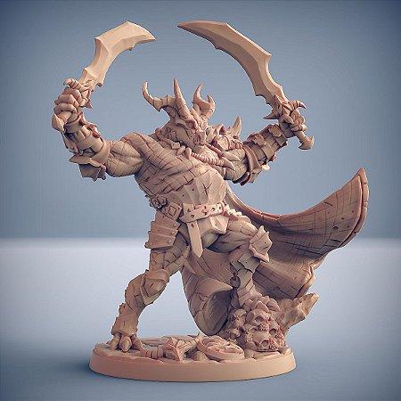 Nasmaraax, O Destruidor - Guarda Dracônica - Miniatura Artisan Guild